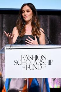 Minka Kelly 2020 Fashion Scholarship Fund Gala 10