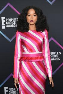 Alisha Wainwright 2018 People's Choice Awards 5