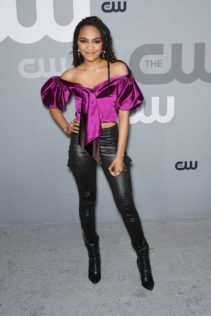 China Anne McClain 2018 CW Network Upfront 4