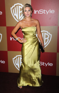 Elisha Cuthbert 14th Warner Bros And InStyle Golden Globe Awards After Party 1