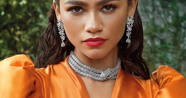 Zendaya 2020 BVLGARI Forever Jewellery Collection