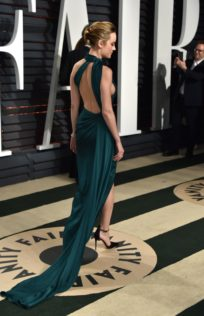 Brie Larson 2017 Vanity Fair Oscar Party 1