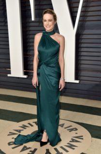 Brie Larson 2017 Vanity Fair Oscar Party 10