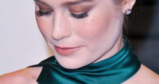 Brie Larson Satin