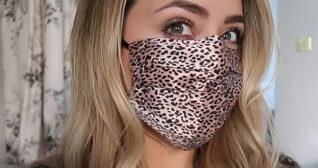Fleur De Force Silk Face Mask