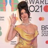 Dua Lipa 2021 Brit Awards 2