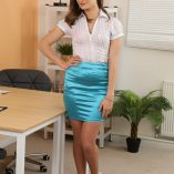 Only Silk And Satin Honour May Miniskirt 1