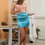 Only Silk And Satin Honour May Miniskirt 10