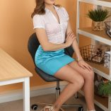 Only Silk And Satin Honour May Miniskirt 2