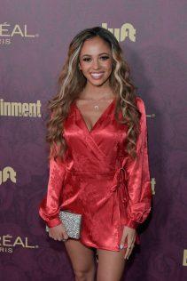 Vanessa Morgan 2018 Entertainment Weekly Pre-Emmy Party 3