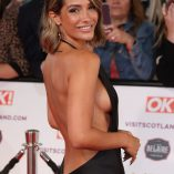 Frankie Bridge 2021 National Television Awards 1