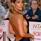 Frankie Bridge 2021 National Television Awards 3